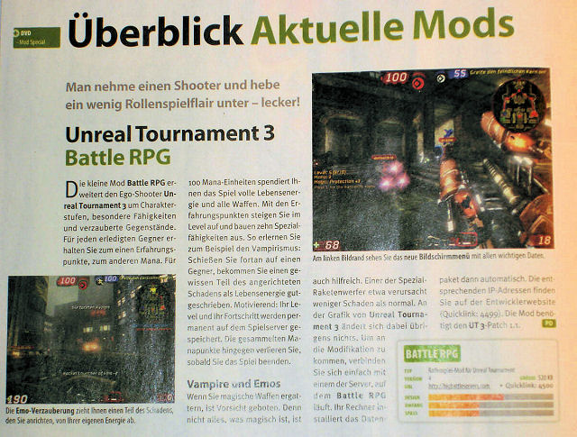BattleRPG in German PC game magazine Gamestar